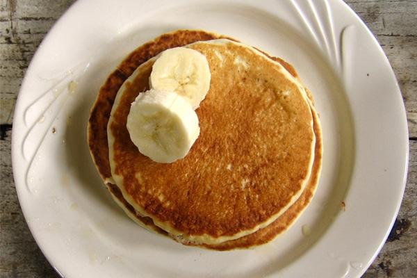 August Recipe: Buckwheat/Almond Pancakes